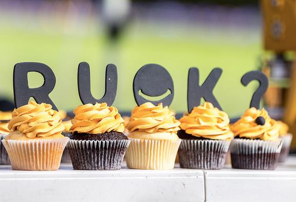 r u ok day cupcakes