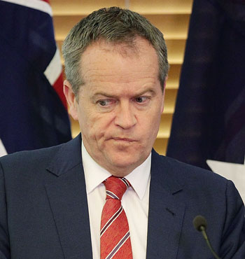 Bill Shorten continues to brush off Mr Turnbull's surge in popularity.