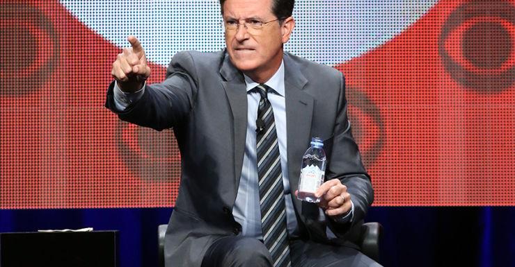 Stephen Colbert Donald Trump routine