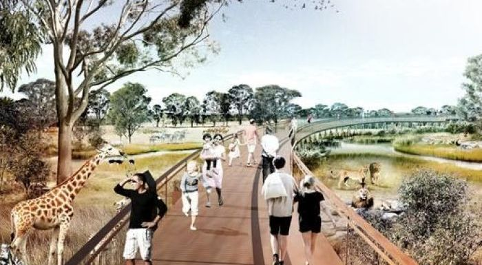 sydney zoo proposal cage free