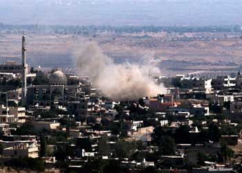 Syrian conflict Golan Heights