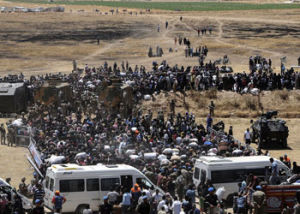 The conflict in Syria has seen about 11 million people displaced. Photo: Getty