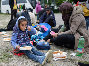 Syrians arriving in Germany in September. Photo: AAP