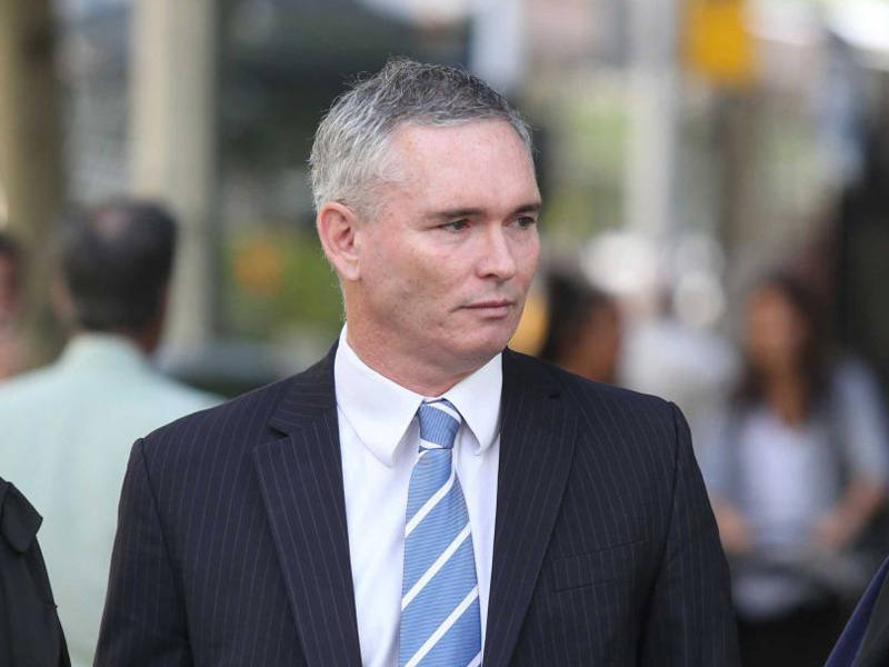 Mr Thomson was found guilty of stealing funds from the Health Services Union last year.