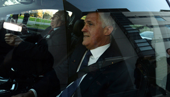 Mr Turnbull will not assume the prime ministership until sworn in by the governor-general. Photo: AAP