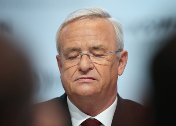 "VW boss Martin Winkerton said he was ""infinitely sorry"". Photo: Getty."
