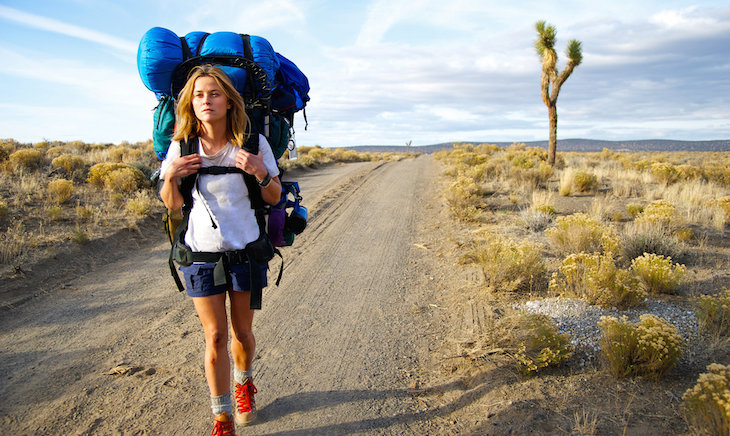 Reese Witherspoon as Cheryl Strayed in the Hollywood adaptation of 'Wild'.