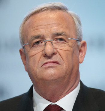 "Former VW boss Martin Winterkorn said he was ""infinitely sorry"" for the scandal before resigning. Photo: Getty"