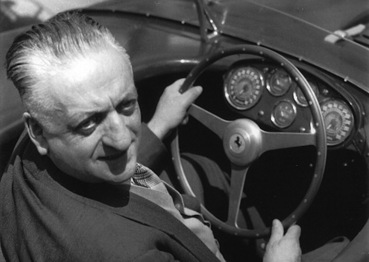 Enzo Ferrari. Photo: Getty