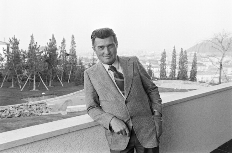 Ferruccio Lamborghini. Photo: Getty