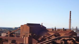 Whyalla steelworks in South Australia
