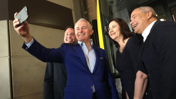 Malcolm Turnbull in Queensland