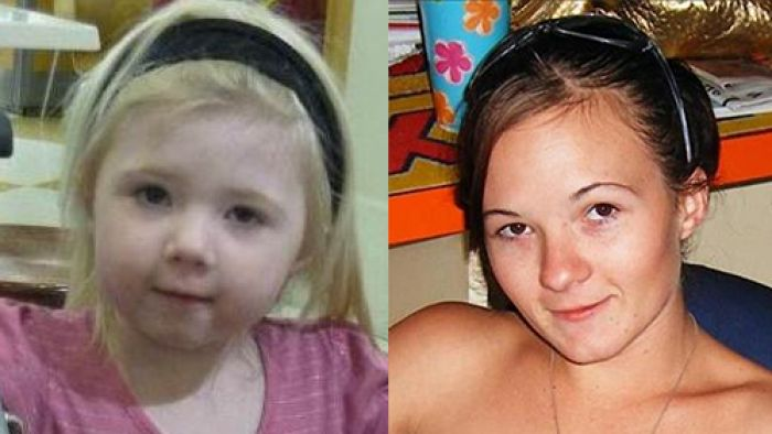 Victims: Khandalyce Kiara Pearce (L) and her mother Karlie Jade Pearce-Stevenson.