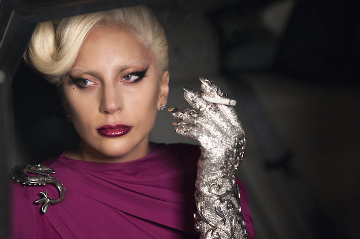 AMERICAN HORROR STORY: HOTEL -- Pictured: Lady Gaga as the Countes. CR: Suzanne Tenner/FX