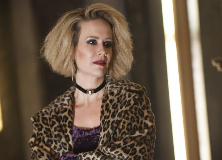 Sarah Paulson plays a drug addict in 'AHSH'.