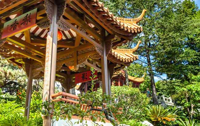 The Chinese Garden of Friendship.