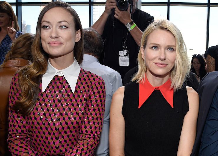 Olivia Wilde and Naomi Watts are always en pointe.