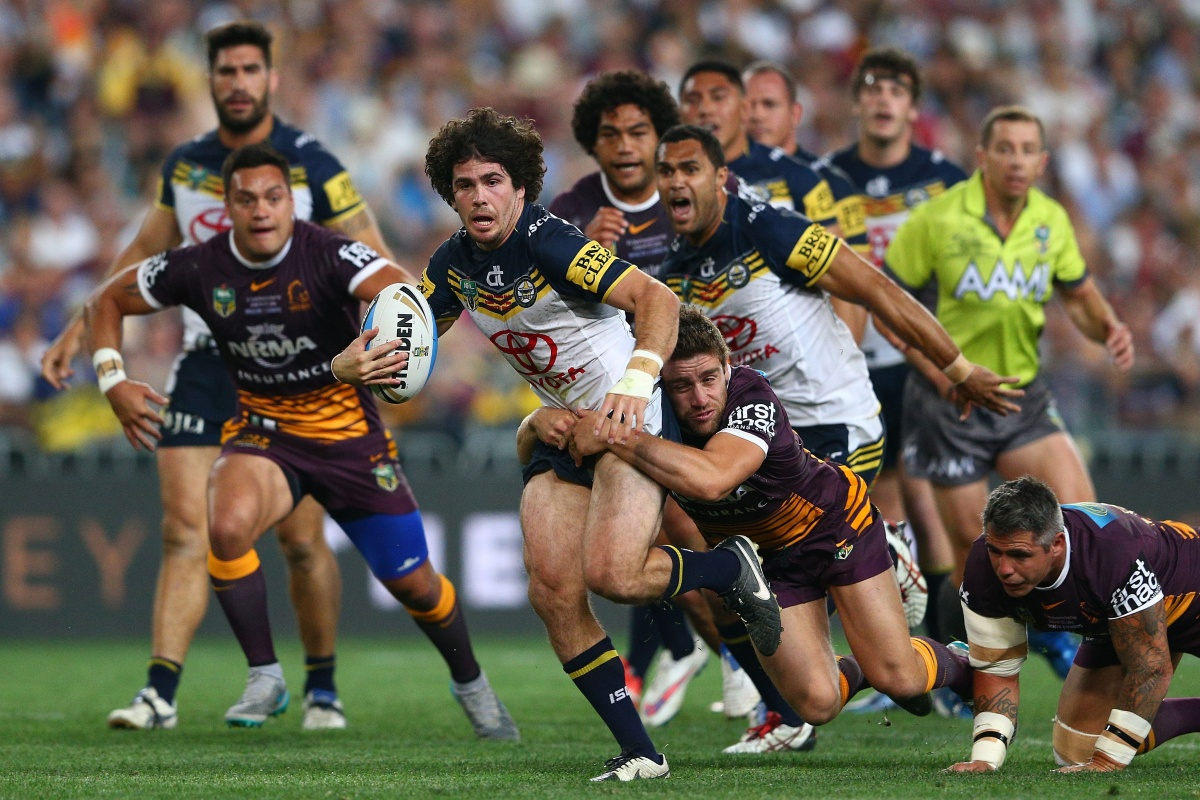 Jake Granville was a potent attacking weapon for the Cowboys. Photo: Getty