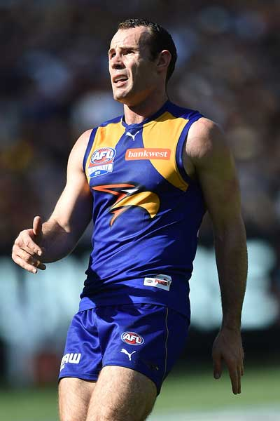 Shannon Hurn's trustworthy right boot let him down badly. Photo: AAP