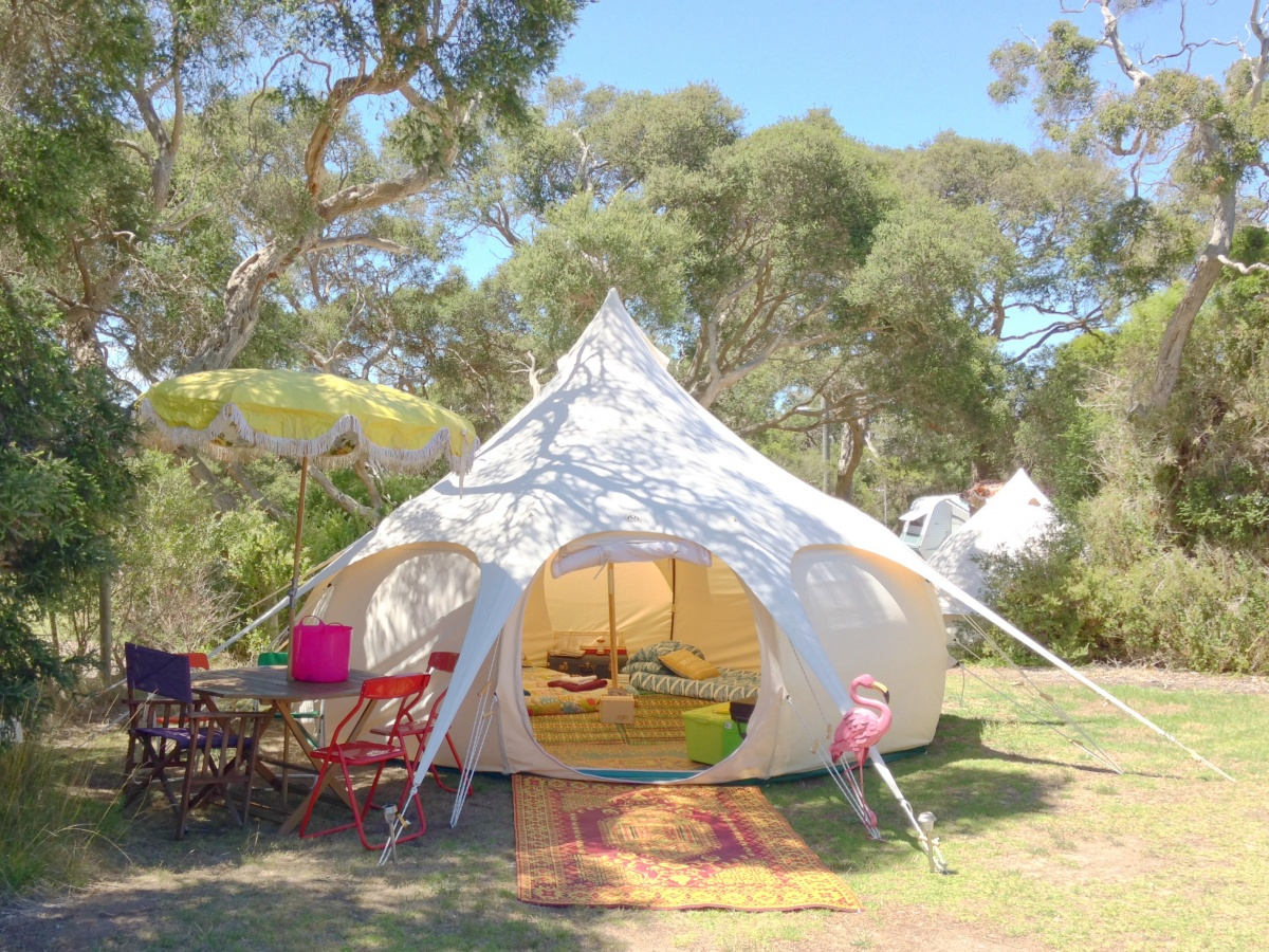 Happy Gl&er Mornington Peninsula VIC & Not into camping? Try glamping instead | The New Daily