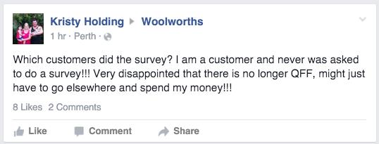 Woolworths Facebook 2