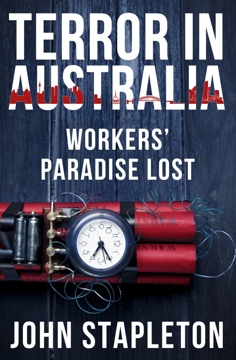 TERROR IN AUSTRALIA WORKERS PARADISE LOST MARKETING IMAGE