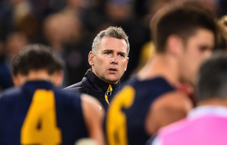 Adam Simpson has an understanding of Hawthorn's tactics. Photo: Getty