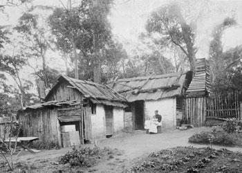 Australian settlers' home