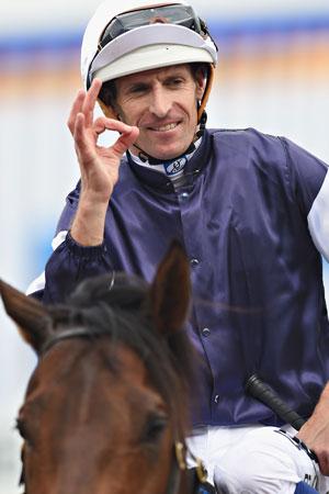 Star jockey Hugh Bowman has the ride on Winx. Photo: Getty