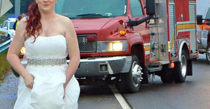 Sarah Ray's wedding took an unexpected turn.