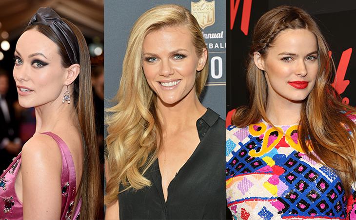 From left: Olivia Wilde, Brooklyn Decker and Robyn Lawley.