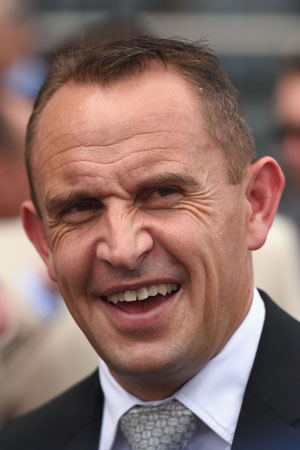 Trainer Chris Waller is enjoying a purple patch. Photo: Getty