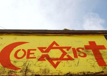 christianity islam judaism coexist