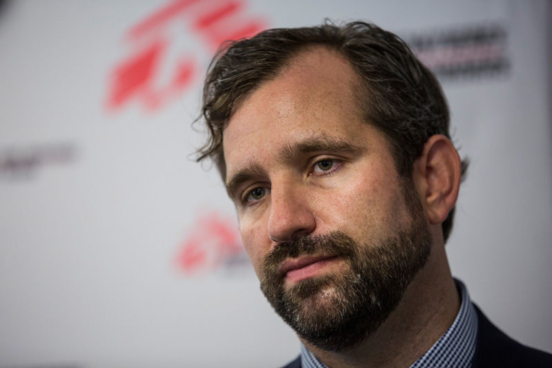 MSF Executive Director Jason Cone calls for an independent inquiry in NYC. Photo: Getty