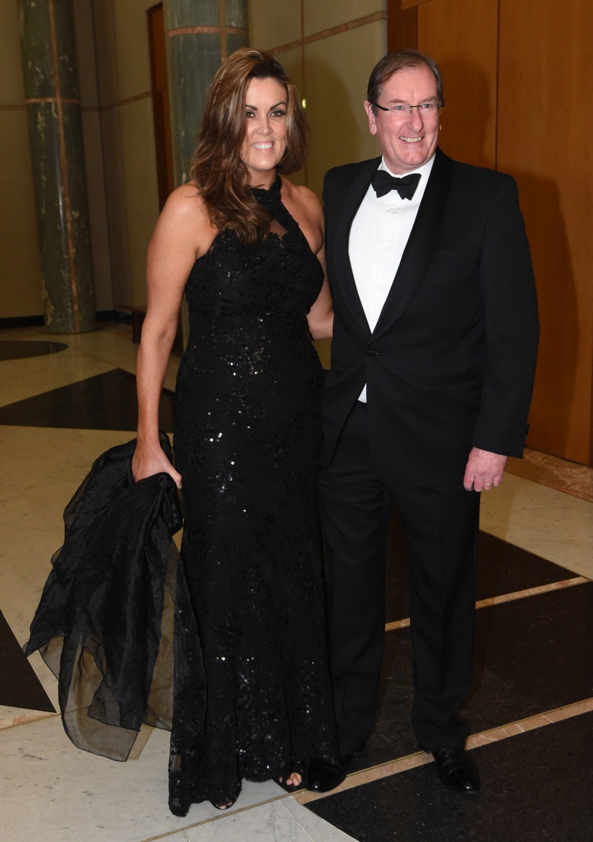 Peta Credlin with her husbane Brian Loughnane. Photo: AAP