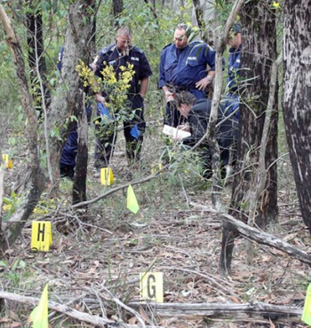 The skeleton of a woman is found in the Belanglo State Forest in August 2010 near where serial killer Ivan Milat dumped the bodies of his seven backpacker victims in the 1990s.