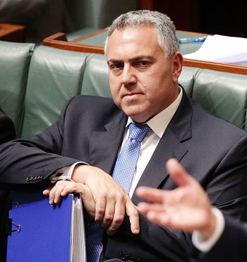 Then Treasurer Joe Hockey agreed Australia's safeguards against the global flow of dirty money should be strengthened.