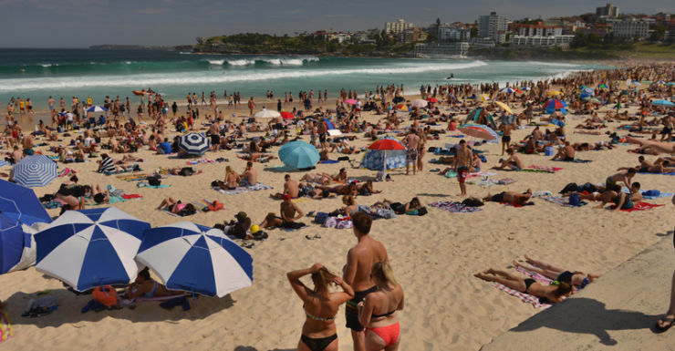 Aussies will be feeling 'hot, hot, hot' a lot earlier than expected.