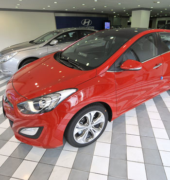 Australia's top four selling cars are all smaller vehicles – including the Hyundai i30.