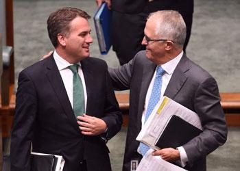 Jamie Briggs Malcolm Turnbull