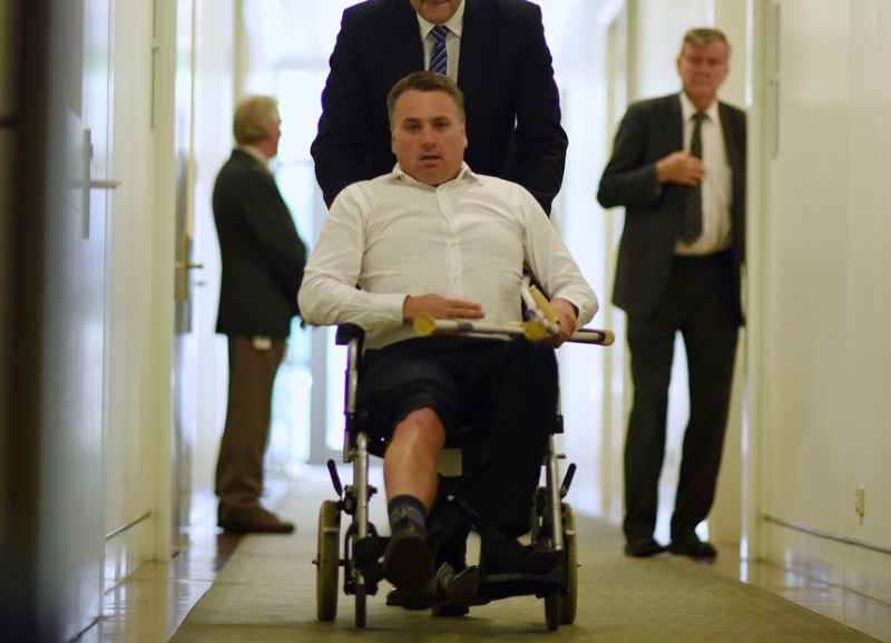 jamie briggs wheelchair