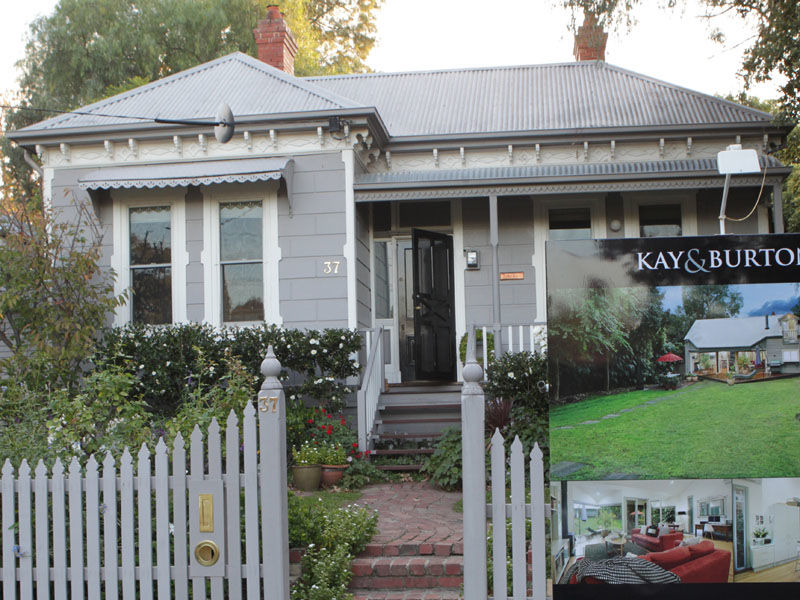 A home for sale in Kew, Melbourne.