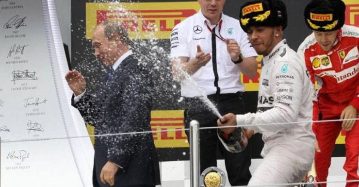 Lewis Hamilton Sochi Grand Prix