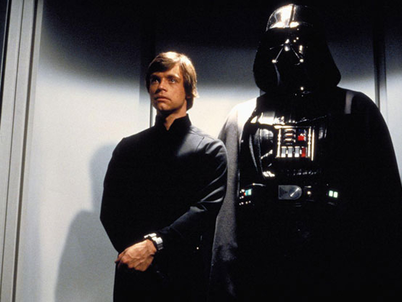 luke skywalker darth vader