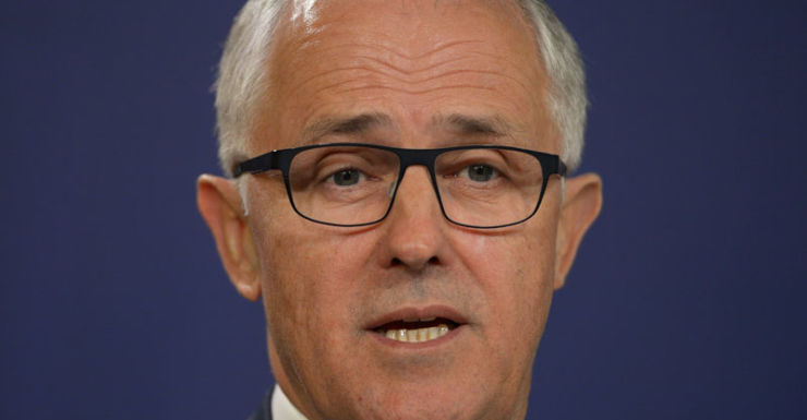 Malcolm Turnbull insists the party is 'very happy with the transition'.