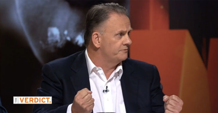 Mark Latham has been at the centre of several controversies over TV slurs.