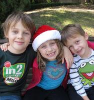 Australian children Mo, Evie and Otis Maslin were killed in the crash.