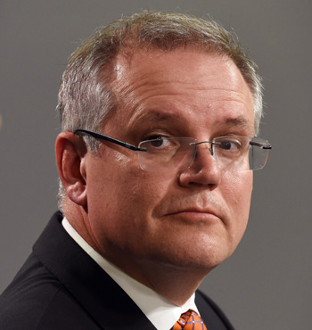 Scott Morrison said people need better choice for in where their super payments go. Photo: Getty