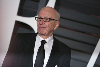 Rupert Murdoch's constant gaffes don't seem to be hurting his career. Photo: Getty
