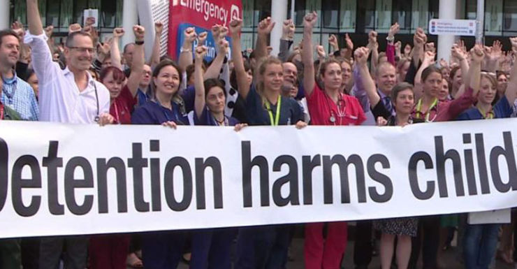 Royal Children's Hospital against detention